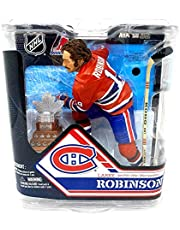 NHL Hockey 6 Inch Action Figure Series 32 - Larry Robinson with Conn Smythe Trophy Silver Level Variant