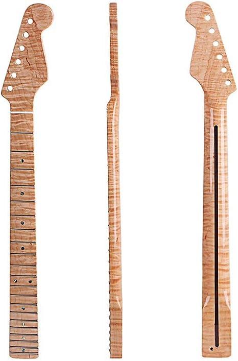 21 mango de madera de tigre canadiense para guitarra eléctrica ...