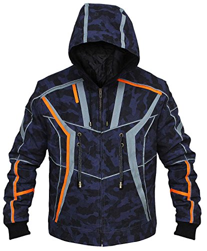 CHICAGO-FASHIONS Mens Superhero Jackets Leather Costume Collection