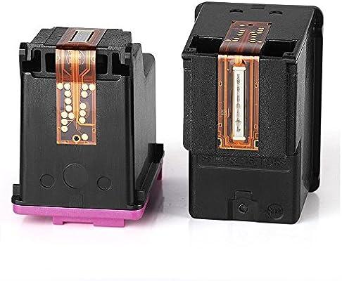 Mony Remanufacturado Cartuchos de Tinta Reemplazo para HP 301 XL 301XL (1 Negro, 1 Tricolor) Compatible con HP Deskjet 2540 1510 3050 2050 1512 1050 ...