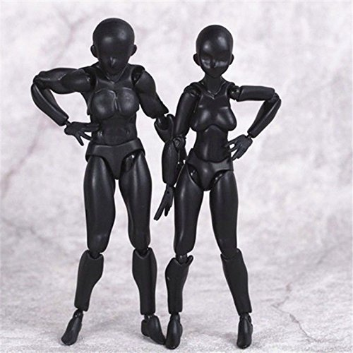 Batman Replica Costume Uk (TONGROU Japan Art Figma He & She Black Version 5