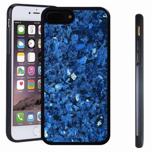 Carrara Star (iphone 7 8 Plus case, SoloShow(R) Slim Shockproof TPU Soft Case Rubber Silicone for Apple iphone 7 8 Plus [Blue 1])