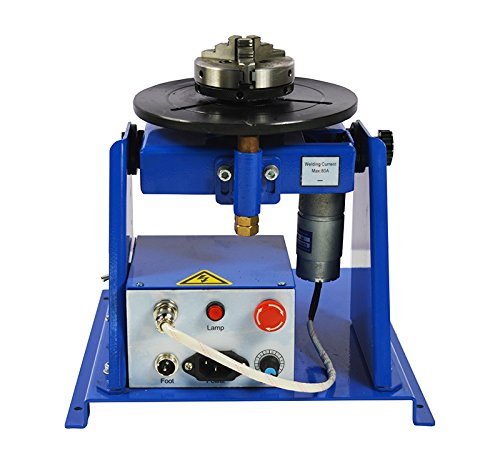 TECHTONGDA 110V Welding Positioner Turntable with 65mm Chuck & Foot Switch by TECHTONGDA (Image #9)