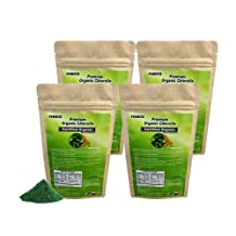 FEBICO Organic Chlorella Powder Raw 100% Pure (1KG Set): Raw, non-GMO, Organic, High protein, chlorophyll, nucleic acids, Vegan - Helps Detox/ Cleanse/ Maintain Healthy Metabolism