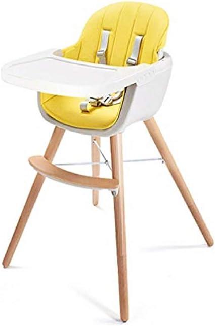 Chaise haute en bois avec solution réglable pour chaises