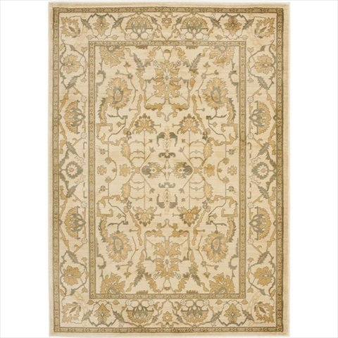 - Safavieh Heirloom Collection HLM1666-2520 Traditional Vintage Brown and Gold Area Rug (5'3