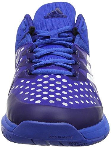 Stabil de Hombre Adidas Mystery Ink Blue Ftwr para Balonmano Court Zapatillas White Azul TqxHBUw5O