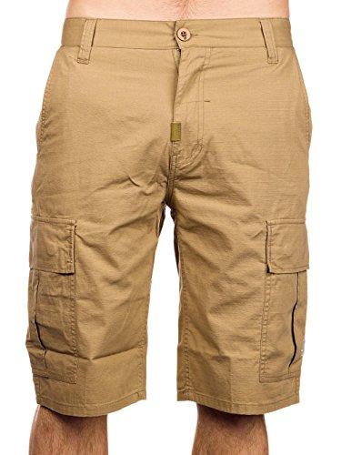 LRG Mens Core Collection Classic Cargo Short, British Khaki, 28