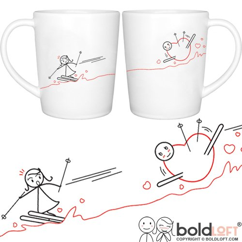 BOLDLOFT Valentines Girlfriend Matching Couples product image