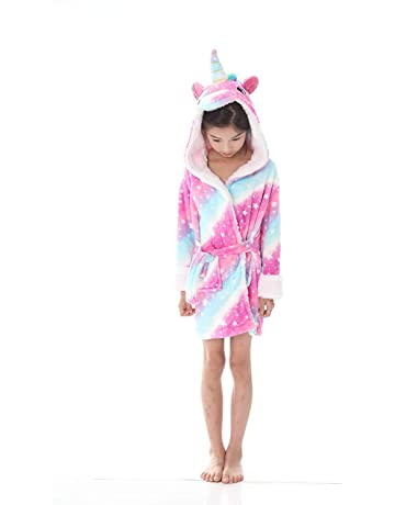Underwear & Sleepwears Bathrobe Kids Boys Robes Children Bathrobe Hooded Cap Soft Velvet Robe Pajama Kids Cotton Warm Clothes Baby Lovely Home Clothes Men's Sleep & Lounge