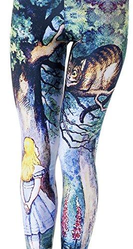 qzunique-womens-cheshire-cat-princess-printed-elastictights-leggingscheshire-catone-size