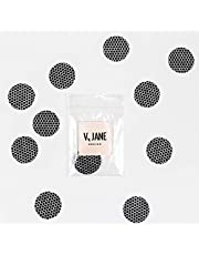 V Jane Design Match Striker Paper with Adhesive (Set of 10) 1 Inch Match Strike Paper Circles with Honeycomb Pattern for a jar of Matches. Use Match Striker Sheets to Make an Emergency fire Starter.