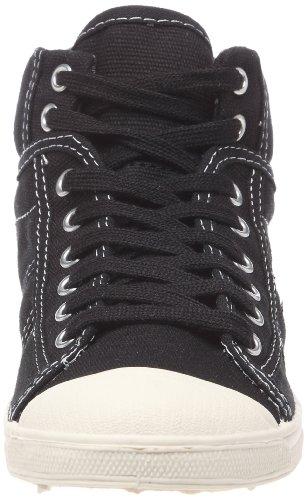 Le Temps des Cerises - Zapatillas de tela para mujer Negro