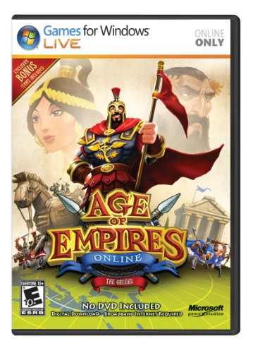 Microsoft Age of Empires Online: The Greeks (Digital Download Card)