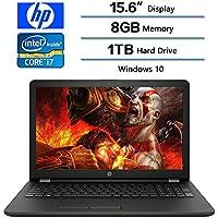 2018 HP Newest 15.6 Inch Touchscreen Laptop (1366 x 768), 8th Gen Intel Core i7 8550U (Up to 4.0 GHz),8GB Memory, 1TB 5400 RPM, Intel UHD Graphics 620, Windows 10 Home