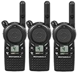 3 Pack of Motorola CLS1410 Two way Radio Walkie Talkies (UHF)