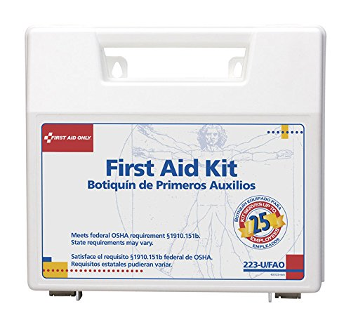 FAO223U - FIRST AID ONLY, INC. Bulk First Aid Kit for 25 People by First Aid Only