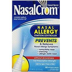 NasalCrom Nasal Allergy Symptom Controller, 100 Metered Sprays, .44 fl oz
