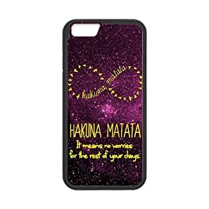 """iPhone 6 Case ,Case for Apple iPhone 6 ,Hakuna Matata Wallet Case for iPhone 6,Case Cover Fit For Apple iPhone 6 4.7"""",PC and TPU Screen Protector For Apple iPhone 6 4.7"""""""