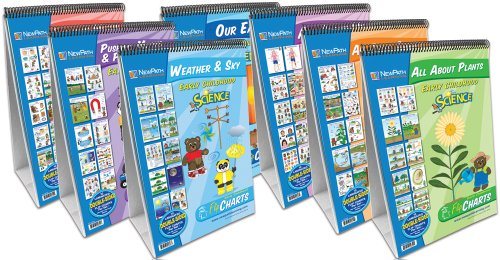 NewPath Learning 7 Piece Science Readiness Flip Chart Set, Early Childhood by New Path Learning (Image #1)'