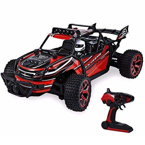 Blexy RC Truck 1/18 Radio Controlled Car 2.4Ghz 4WD Off-Road Rock Climber Stunt Racing Electric Vehicle Toy for Kids -