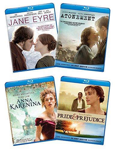 (Ladies of Literature Bundle (Pride & Prejudice/ Atonement/ Jane Eyre/ Anna Karenina) [Blu-ray])
