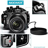 Neewer® 40m/ 130ft Underwater PC Housing Camera Waterproof Case with 24-70mm Lens for Sony A7 II