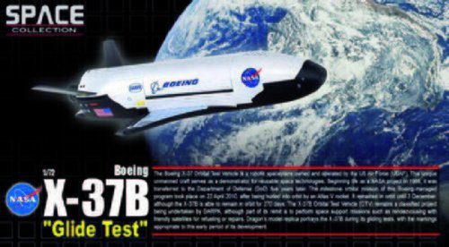 Dragon Models 1/72 X-37B Orbital Test Vehicle (Glide Test) from Dragon Models USA