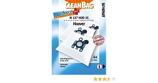 CleanBag M 137 HOO 15 - Bolsas para aspiradora: Amazon.es: Hogar