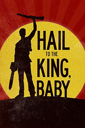 - Hail to The King Baby Movie Poster 12x18 inch