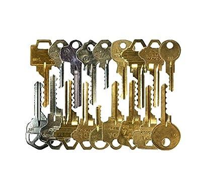 Kit de 17 llaves bumping Bump-Keys para cerraduras de serreta - España - Kit