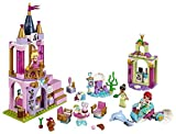 LEGO l Disney Aurora, Ariel and Tiana's Royal Celebration 41162 Building Kit (282 Piece)