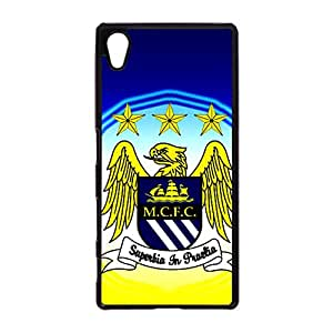 PC Sony Xperia Z5 Mobile Case Official Manchester City FC Phone Case Eagle Print