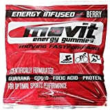 Sports Nutrition Movit Energy Gummies for Athletes, Berry, 24 Count (Pack of 24)