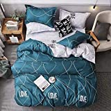 Starstorm_6 Pieces King Size Fitted Bed Sheet Set_Love Waves Design (Click above on Starstorm for more designs)
