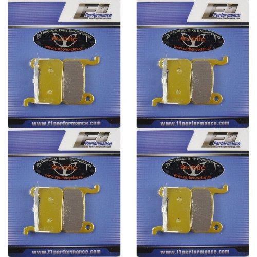 4 Pairs Sintered Shimano XTR XT SLX Saint Hone Disc Brake Pads Compatible BRM765