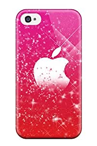 Awesome Case Cover/iphone 4/4s Defender Case Cover(pretty Pink Mac )