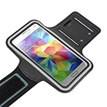 Mingbow® Sports Armband Running Wrist Bag Case Pouch for Samsung Galaxy S5