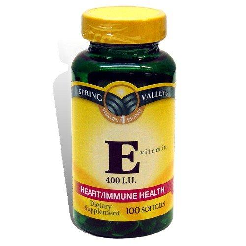 Spring Valley - Vitamine E 400 UI, 100 gélules