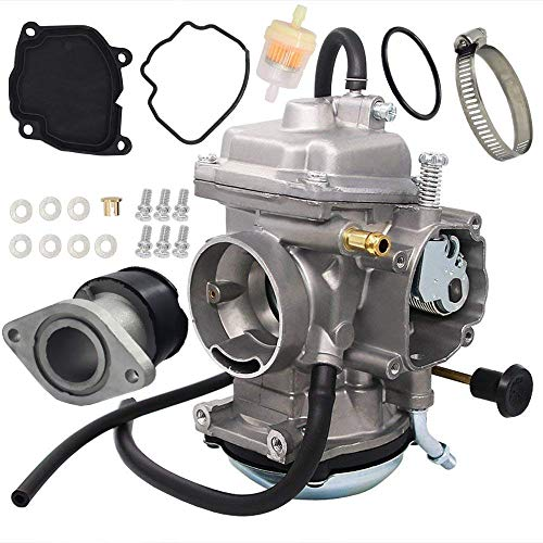 Carburetor For Yamaha YFM250 YFM250X BearTracker ATV 1999-2004 Carb Replace 4XE-14140-13-00 4XE-14140-11-00 with Intake Manifold