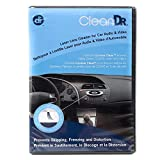 Car CD Player Cleaner for Audio and Video with 10-Brush Cyclone Clean Process