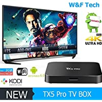 2017 Pro Android TV Box 4k/3d Support Custom New K0DI 17.1 installed Free Wireless Keyboard