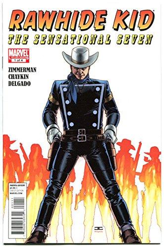 - RAWHIDE KID #1 2 3 4, NM, Sensational Seven, 2010, more Westerns in store