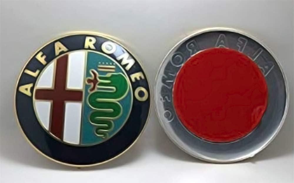 Emblema per capotasto o baule da 74 mm di ricambio Distintivo doro