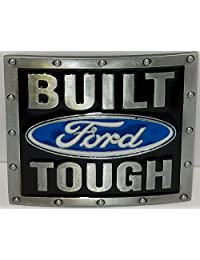 Built Ford Tough Car Auto Truck Belt Buckle for Belts, by Canada Buckles ~ Ships from Cornwall, Ontario, Canada