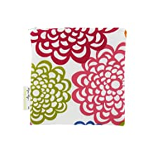 Itzy Ritzy Snack Happens Reusable Bag, Fresh Bloom