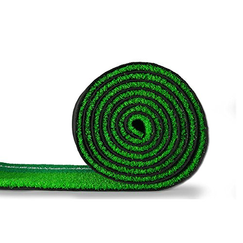 PLAYEAGLE Indoor and Outdoor Golf Putting Mat Practice Premium Wooden Puttinng Green with Ball Auto Return Pathway by PLAYEAGLE (Image #4)