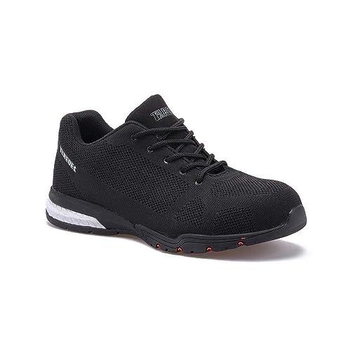 Paredes Cheste S1P SRC - zapatillas de seguridad deportivas - negro: Amazon.es: Zapatos y complementos