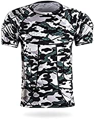 Jellybro Men's Padded Football Protective Gear Set Training Suit for Soccer Basketball Paintball Rib Prote