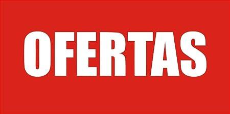 PEGAFACIL Vinilo Adhesivo de Ofertas | Ofertas en tu escaparate | Pegatinas Adhesivas Rebajas | Ofertas de su establecimiento Rebajas | Descuentos de ...